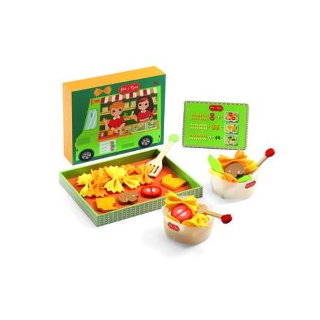 """Mediniai žaislai """"Itališka virtuvė"""""""