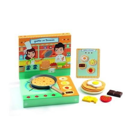 """Mediniai žaislai """"Pusryčiai"""""""