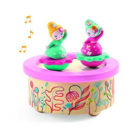 """Magnetinė muzikinė dėžutė """"Gėlių melodija"""""""