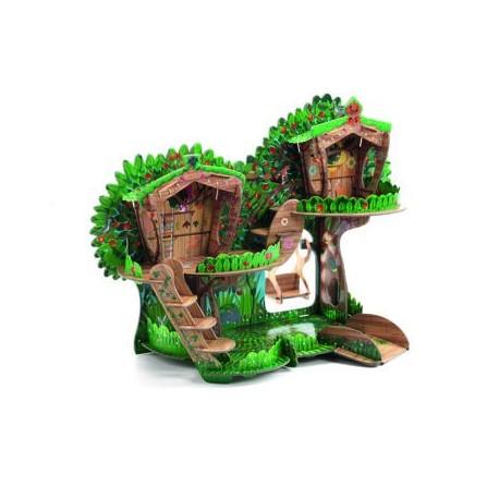 3D miško namelis vaikams