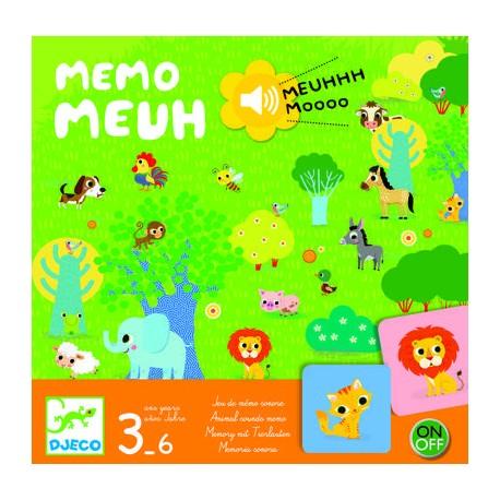 Stalo žaidimas - Memo Meuh