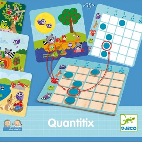 Edukacinis stalo žaidimas - Quantitix
