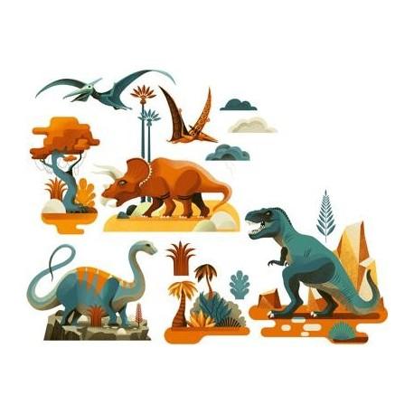 """Langų lipdukai """"Dinozaurai"""""""