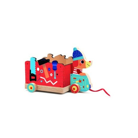 """Traukiamas žaisliukas - """"Vaikiškas sunkvežimis"""""""